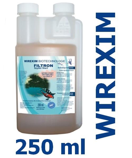 Płyn do filtrów wodnych WIREXIM BIOTECHNOLOGIE FILTRON Szybki Start 0.25 litra