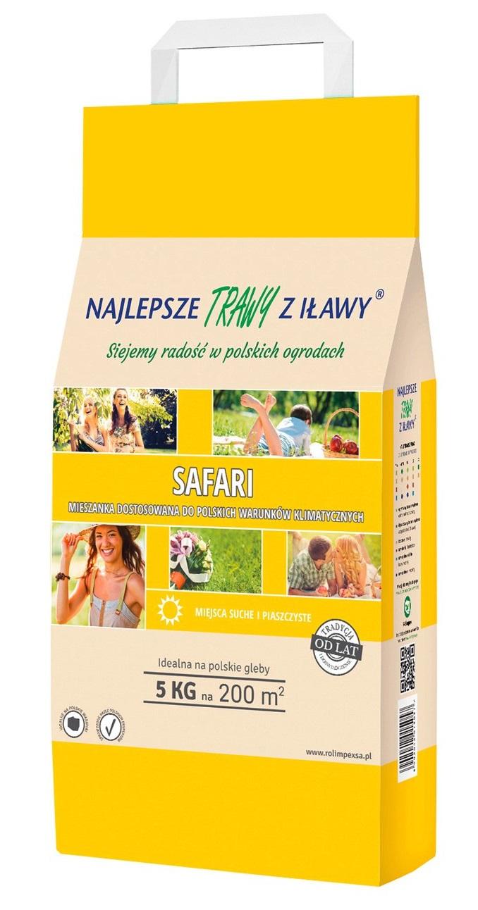 Mieszanka nasion trawy SAFARI Rolimpex