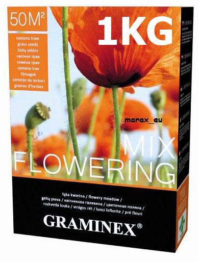 Mieszanka nasion trawy FLOWERING MIX Granimex